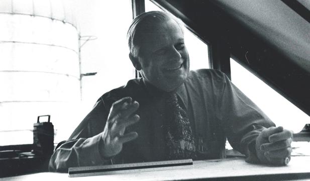 bill at desk