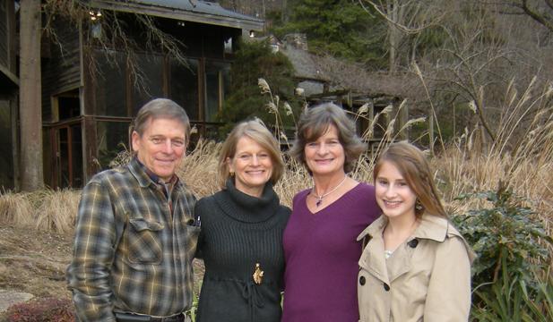 Charissa with Brosius Family